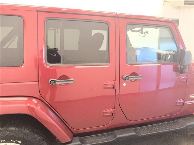 2011 Jeep Wrangler Unlimited Sahara (Stk: 199276) in Lethbridge - Image 9 of 19