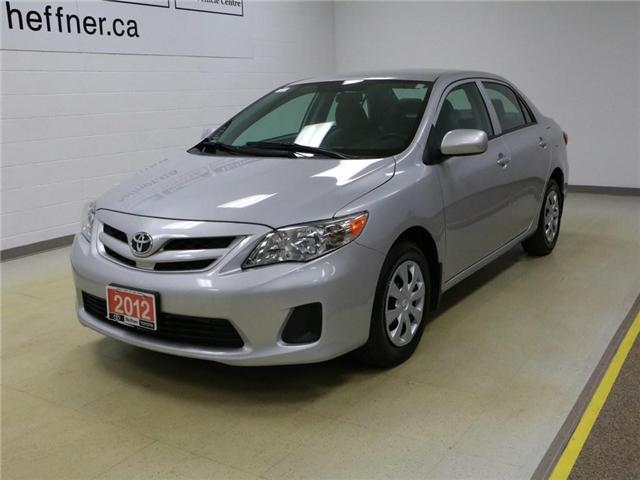 2012 Toyota Corolla  2T1BU4EE5CC896525 186211 in Kitchener