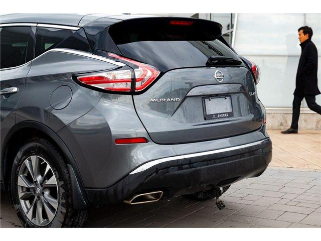 2018 Nissan Murano SL (Stk: P0643A) in Ajax - Image 9 of 27
