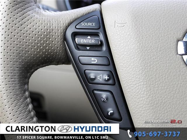 2014 Nissan Murano Platinum (Stk: 17745A) in Clarington - Image 10 of 27