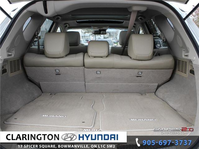 2014 Nissan Murano Platinum (Stk: 17745A) in Clarington - Image 25 of 27