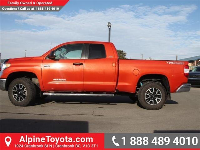 2016 Toyota Tundra  (Stk: X517831M) in Cranbrook - Image 2 of 20