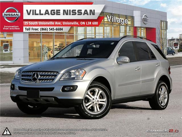 2007 Mercedes-Benz M-Class Base (Stk: 80825A) in Unionville - Image 1 of 27