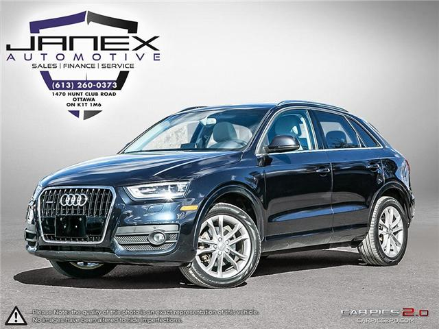 2015 Audi Q3 2.0T Technik (Stk: 18628) in Ottawa - Image 1 of 29