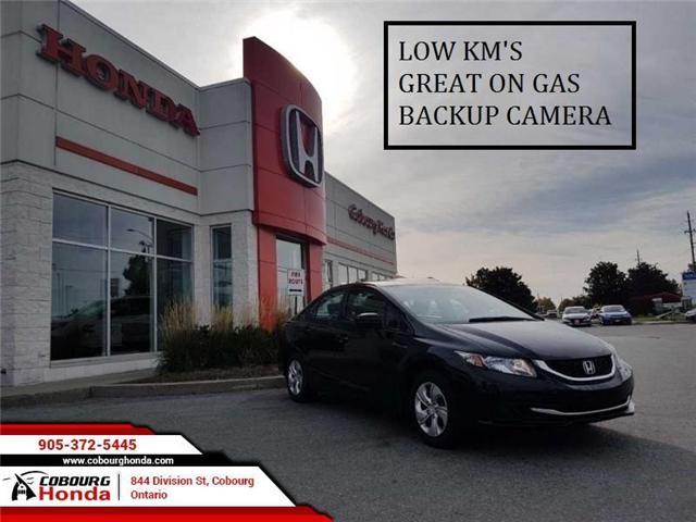 2015 Honda Civic LX (Stk: G1722) in Cobourg - Image 1 of 8