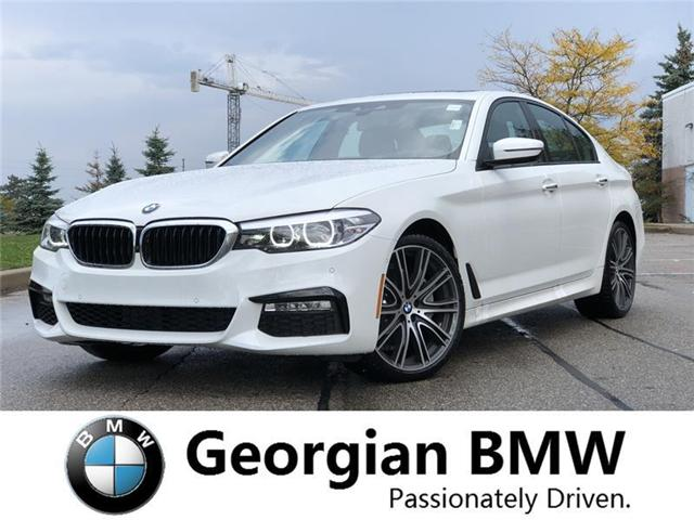 2018 BMW 540i xDrive (Stk: B18396) in Barrie - Image 1 of 18