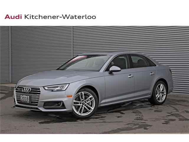 2018 Audi A4 2.0T Technik (Stk: 2A7491) in Kitchener - Image 1 of 22