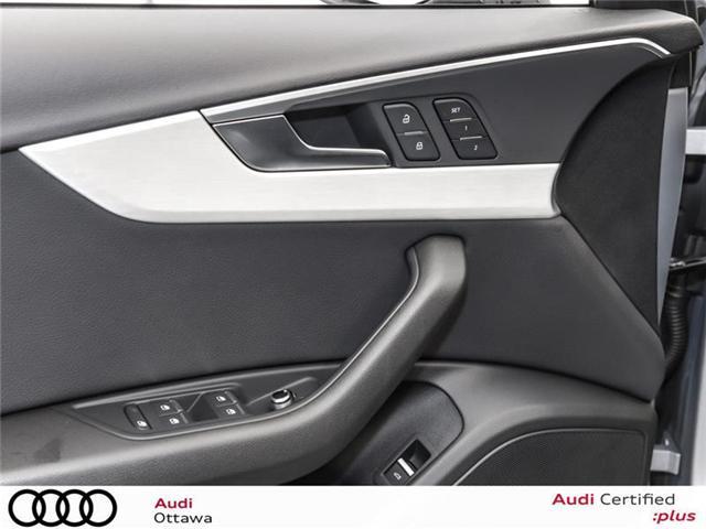2017 Audi A4 2.0T Progressiv (Stk: PA385A) in Ottawa - Image 13 of 22
