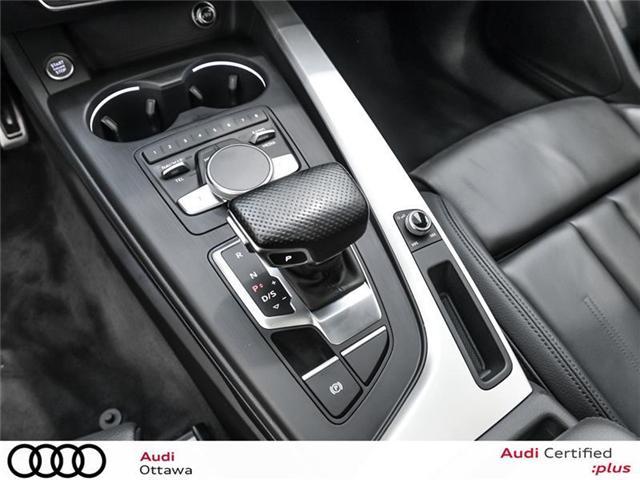 2017 Audi A4 2.0T Progressiv (Stk: PA385A) in Ottawa - Image 19 of 22
