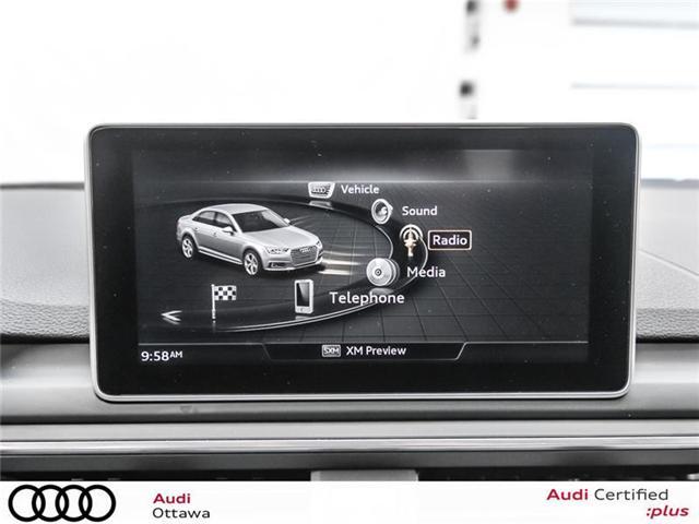 2017 Audi A4 2.0T Progressiv (Stk: PA385A) in Ottawa - Image 21 of 22