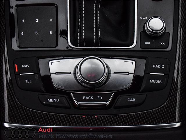 2018 Audi S6 4.0T (Stk: 90393) in Nepean - Image 23 of 30