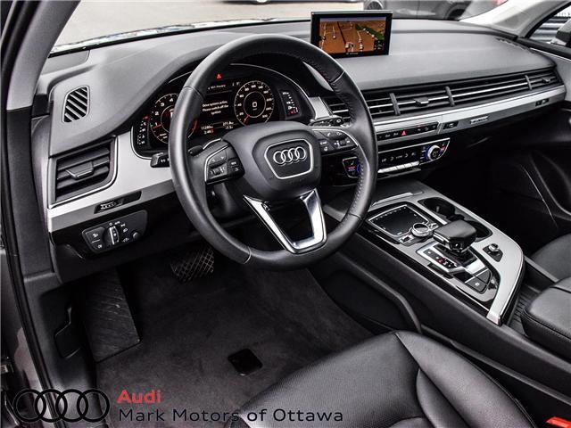 2018 Audi Q7 2.0T Progressiv (Stk: 90660) in Nepean - Image 10 of 30