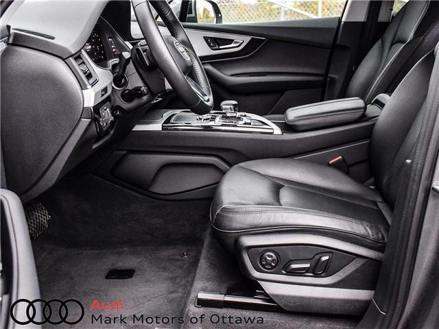 2018 Audi Q7 2.0T Progressiv (Stk: 90660) in Nepean - Image 11 of 30