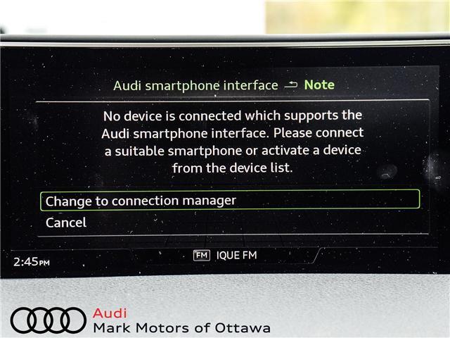 2018 Audi Q7 2.0T Progressiv (Stk: 90660) in Nepean - Image 22 of 30