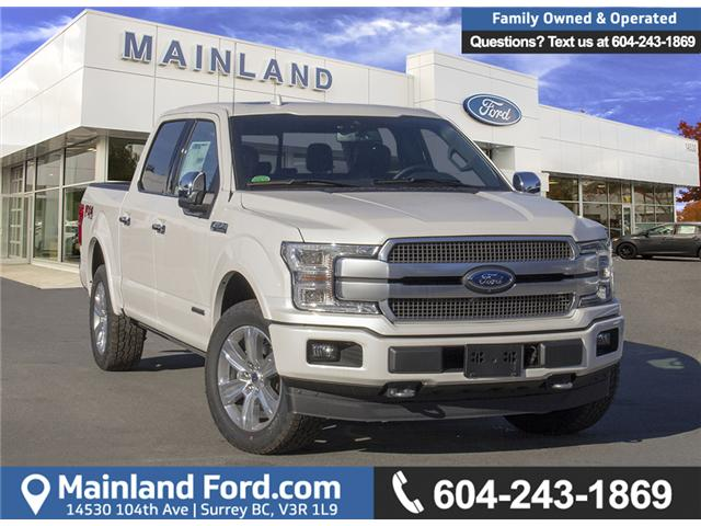 2018 Ford F-150 Platinum (Stk: 8F12020) in Surrey - Image 1 of 29