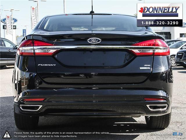 2017 Ford Fusion SE (Stk: PLDUR5897) in Ottawa - Image 5 of 28