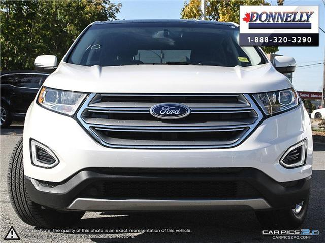 2018 Ford Edge SEL (Stk: PLDUR5895) in Ottawa - Image 2 of 28
