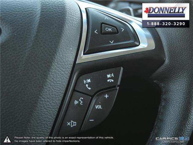2018 Ford Edge SEL (Stk: PLDUR5895) in Ottawa - Image 18 of 28