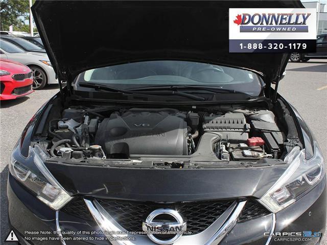 2018 Nissan Maxima  (Stk: CLKUR2179) in Kanata - Image 8 of 27