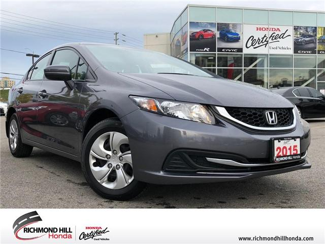 2015 Honda Civic LX (Stk: 181563P) in Richmond Hill - Image 1 of 18