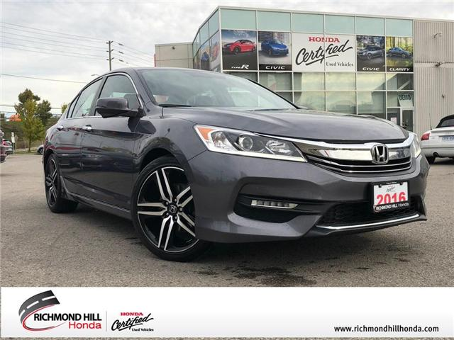 2016 Honda Accord Sport (Stk: 2041P) in Richmond Hill - Image 1 of 21