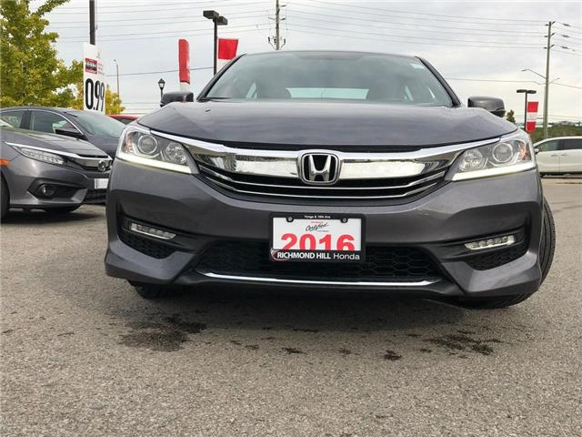 2016 Honda Accord Sport (Stk: 2041P) in Richmond Hill - Image 2 of 21