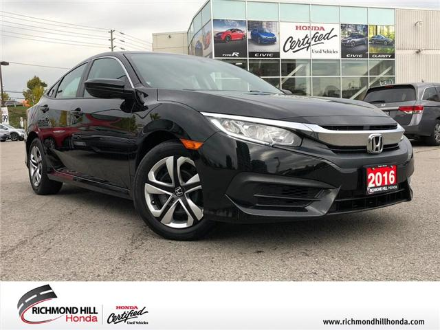 2016 Honda Civic LX (Stk: 2048P) in Richmond Hill - Image 1 of 18
