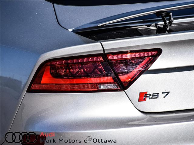 2015 Audi RS 7 4.0T (Stk: 90853B) in Nepean - Image 7 of 30