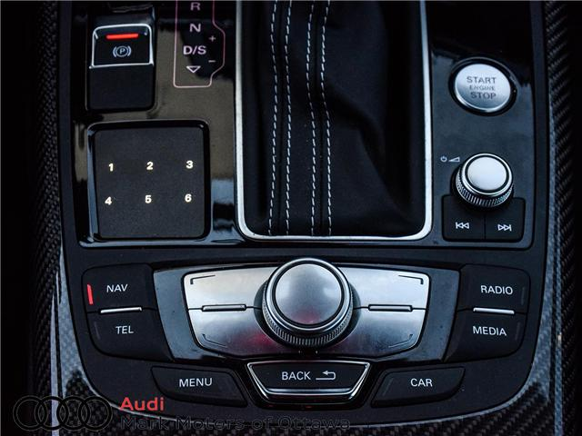 2015 Audi RS 7 4.0T (Stk: 90853B) in Nepean - Image 19 of 30