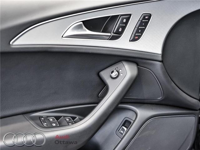 2017 Audi A6 2.0T Progressiv (Stk: 50597) in Ottawa - Image 16 of 21