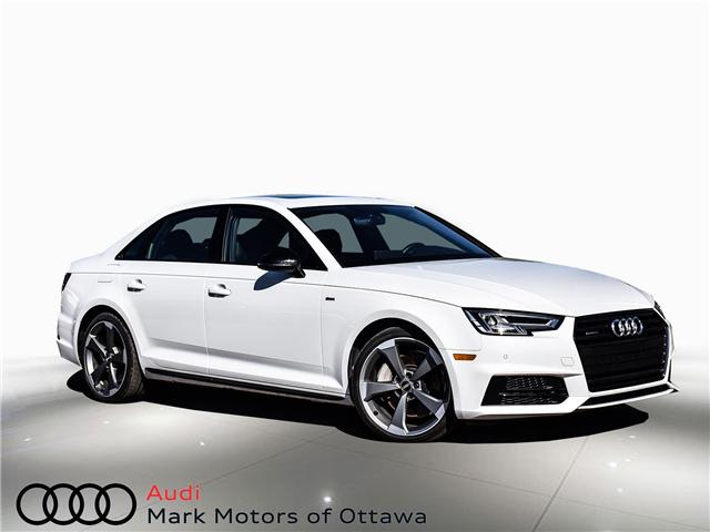 2018 Audi A4 2.0T Progressiv (Stk: 90449) in Nepean - Image 1 of 30