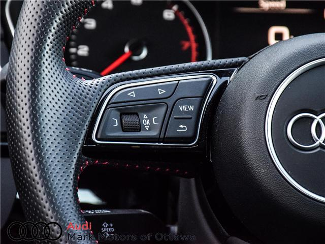 2018 Audi A4 2.0T Progressiv (Stk: 90449) in Nepean - Image 17 of 30