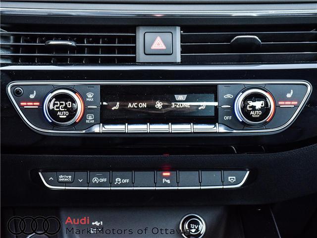 2018 Audi A4 2.0T Progressiv (Stk: 90449) in Nepean - Image 19 of 30