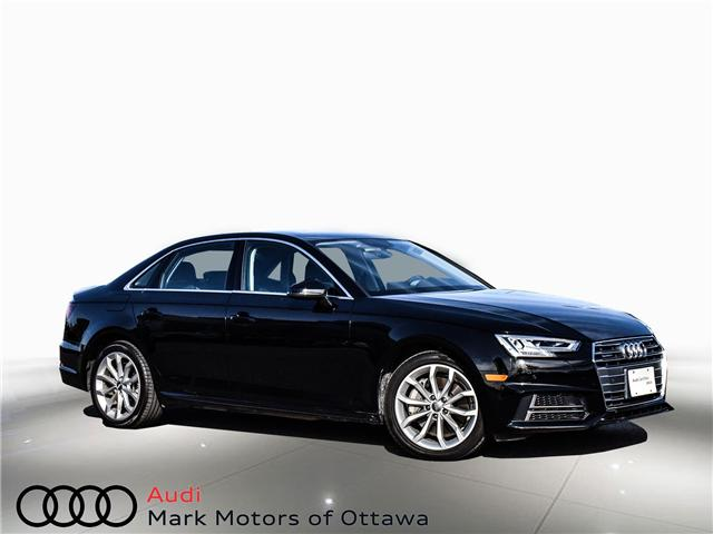 2018 Audi A4 2.0T Progressiv (Stk: 90744) in Nepean - Image 1 of 30