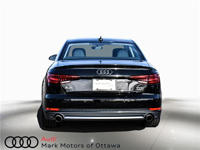 2018 Audi A4 2.0T Progressiv (Stk: 90744) in Nepean - Image 5 of 30