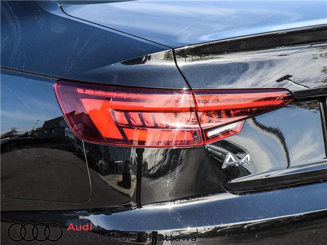 2018 Audi A4 2.0T Progressiv (Stk: 90744) in Nepean - Image 7 of 30