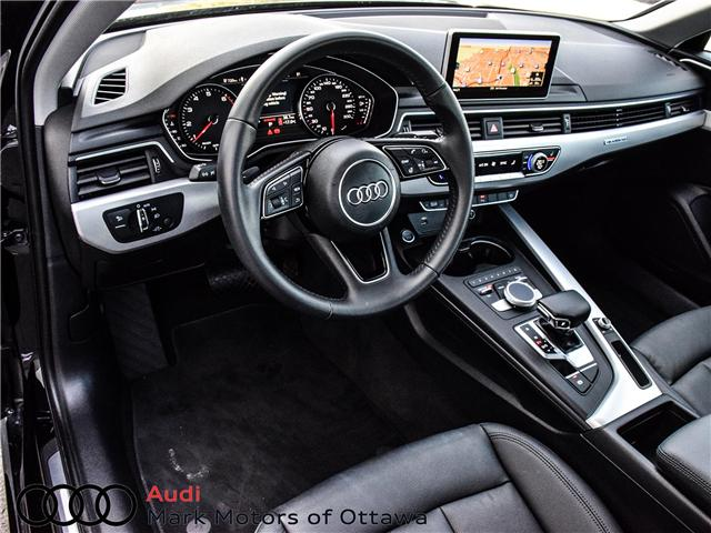 2018 Audi A4 2.0T Progressiv (Stk: 90744) in Nepean - Image 12 of 30