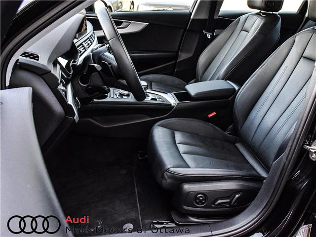 2018 Audi A4 2.0T Progressiv (Stk: 90744) in Nepean - Image 14 of 30