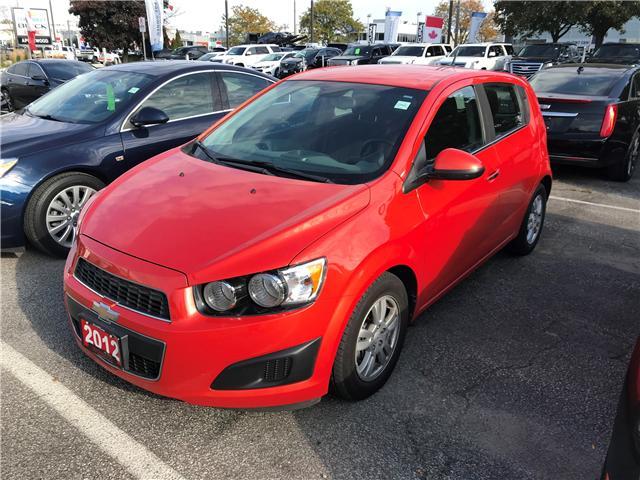 2012 Chevrolet Sonic LT (Stk: 5954TU) in Mississauga - Image 1 of 1