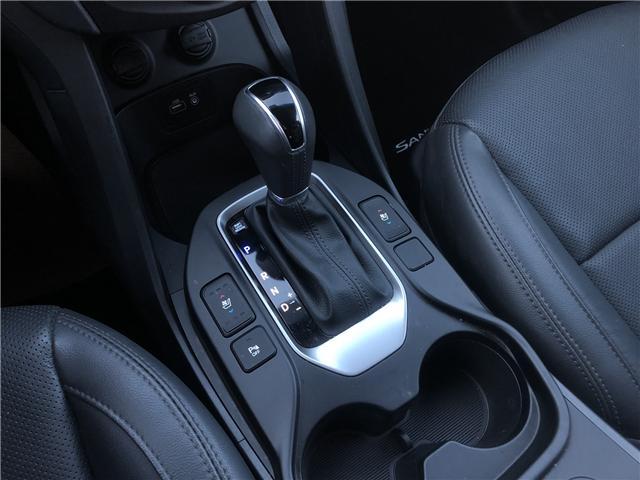 2018 Hyundai Santa Fe Sport 2.0T Limited (Stk: H2287) in Saskatoon - Image 18 of 23