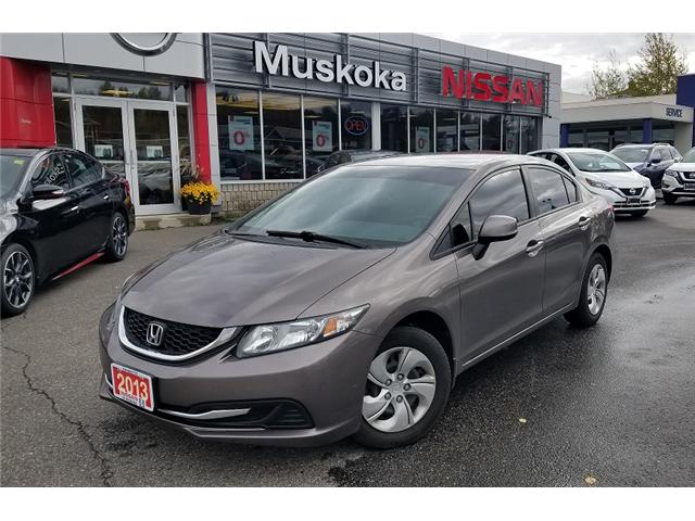 2013 Honda Civic LX (Stk: 18128A) in Bracebridge - Image 1 of 3