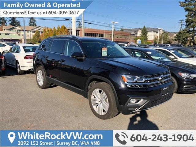2018 Volkswagen Atlas 3.6 FSI Execline (Stk: JA593254A) in Surrey - Image 1 of 2