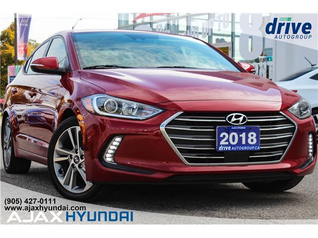 2018 Hyundai Elantra GLS (Stk: 17972A) in Ajax - Image 1 of 27