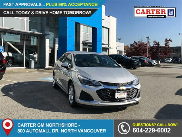 2019 Chevrolet Cruze LT (Stk: 9C04910) in North Vancouver - Image 1 of 12