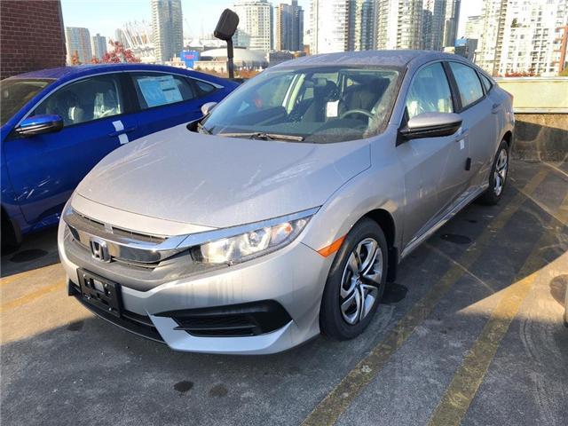 2018 Honda Civic LX (Stk: 3J41520) in Vancouver - Image 1 of 4