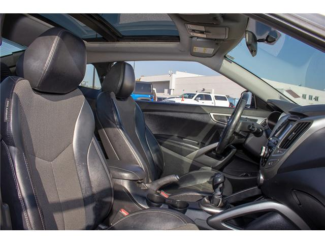 2013 Hyundai Veloster Tech (Stk: J900362A) in Surrey - Image 14 of 23