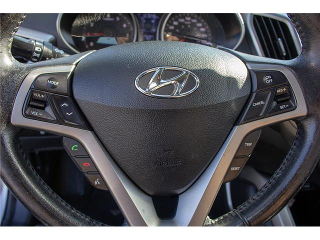 2013 Hyundai Veloster Tech (Stk: J900362A) in Surrey - Image 16 of 23