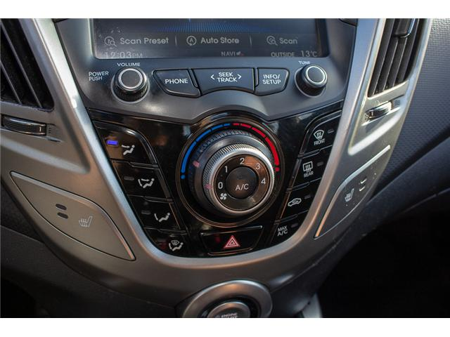 2013 Hyundai Veloster Tech (Stk: J900362A) in Surrey - Image 20 of 23