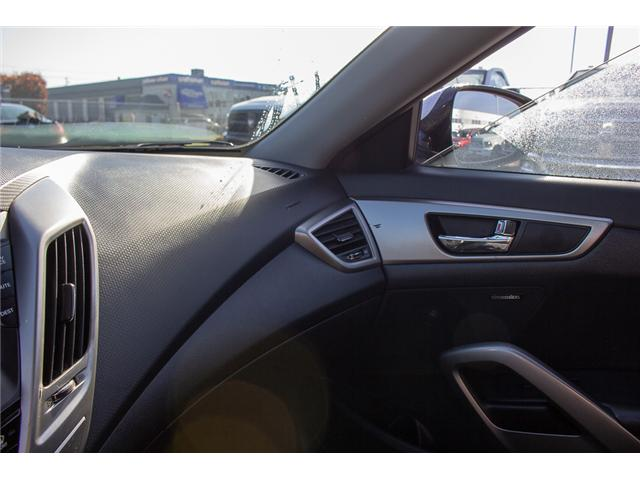 2013 Hyundai Veloster Tech (Stk: J900362A) in Surrey - Image 22 of 23