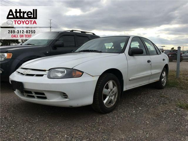 2004 Chevrolet CAVALIER VL POWER WINDOWS, SPOILER, ALLOY WHEELS, POWER MIR (Stk: 40517A) in Brampton - Image 1 of 12